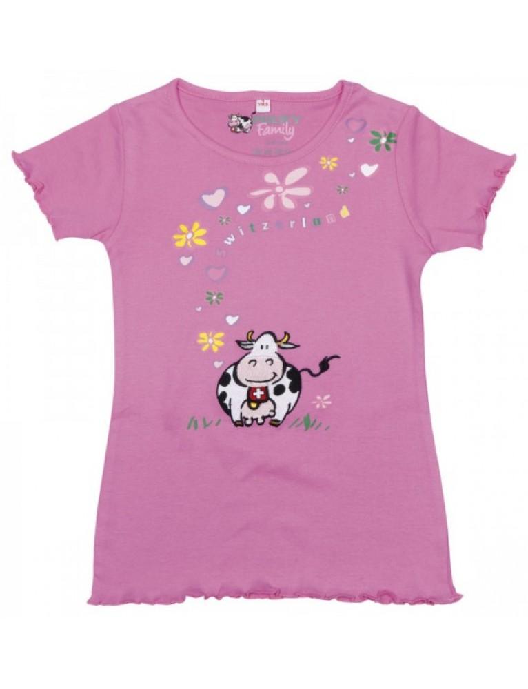 Alpine Club - Milky Family Kid's T-Shirt Milky Flower