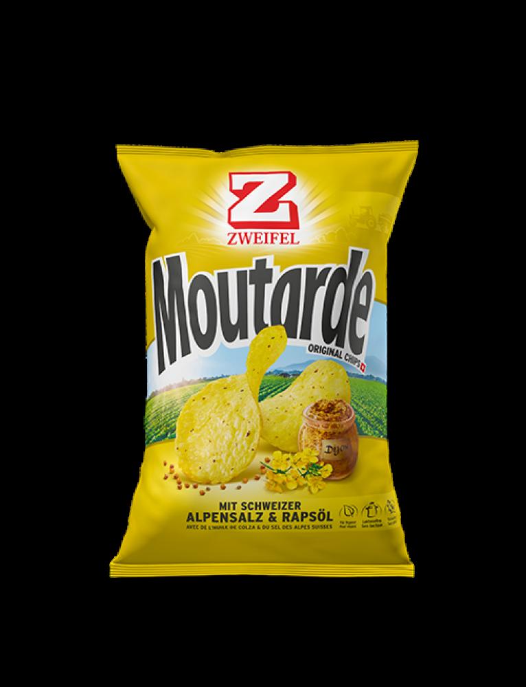 Zweifel - Original Chips Mustard 'Moutarde' (90 g)