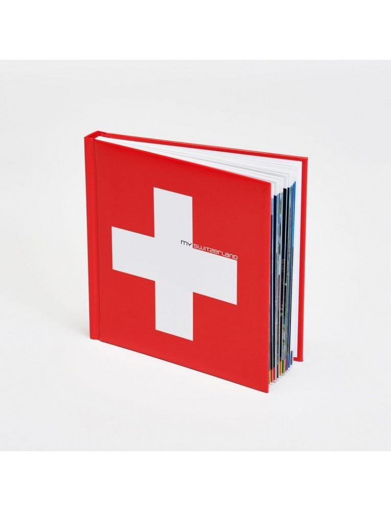 Illustrated Book 'My Switzerland'