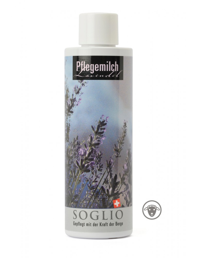 Soglio - Intense Care Milk with Lavender (200 ML)