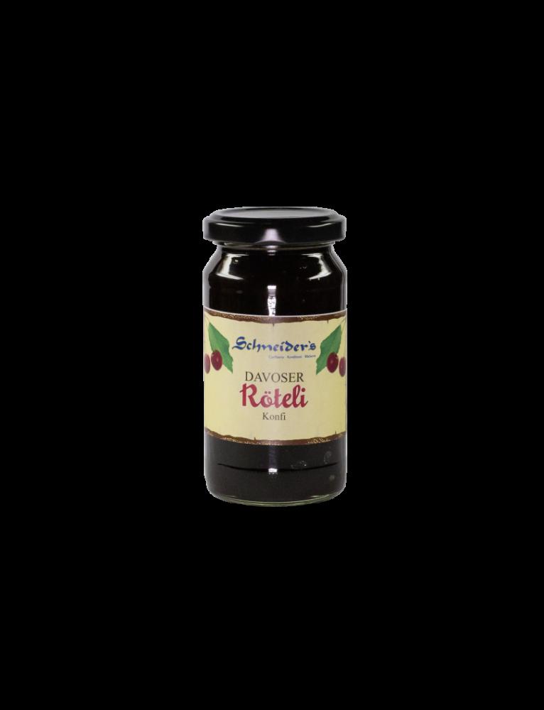 Kindschi - Röteli 'Konfi' Cherry Jam (250 g)