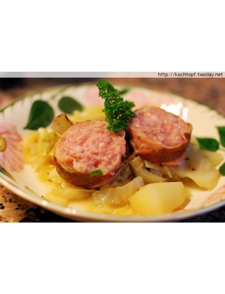 Saucisson Vaudois Sausage (ca. 400 G) ***Pre-Order Item***