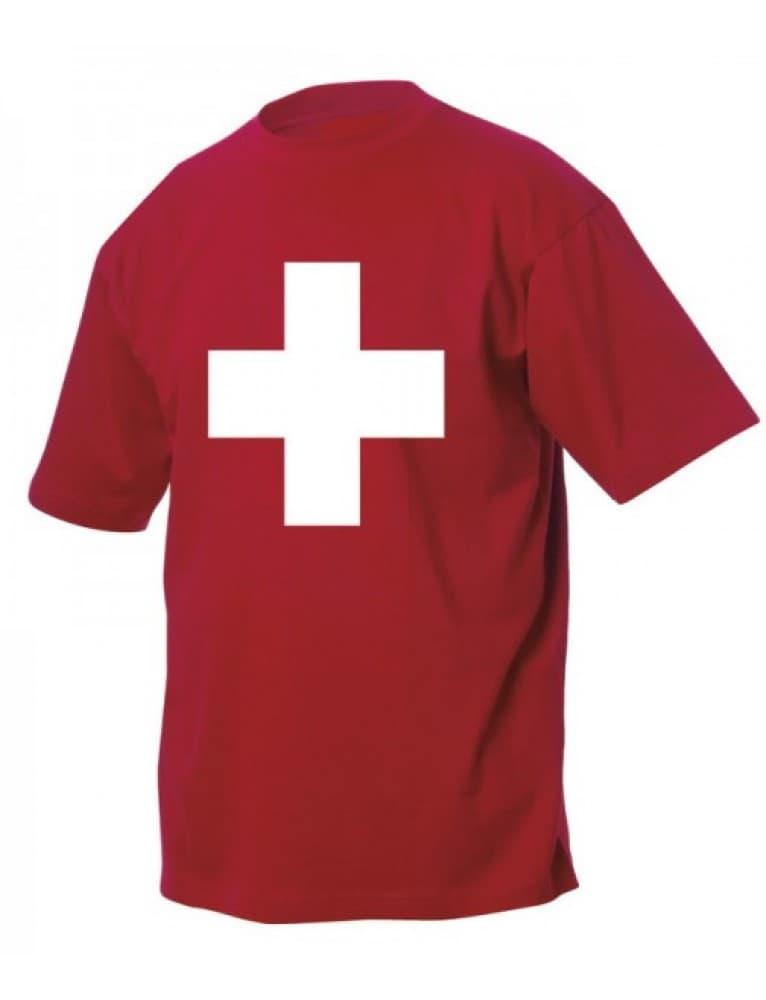 Alpine Club - Edelweiss Kid's T-Shirt Swiss Cross