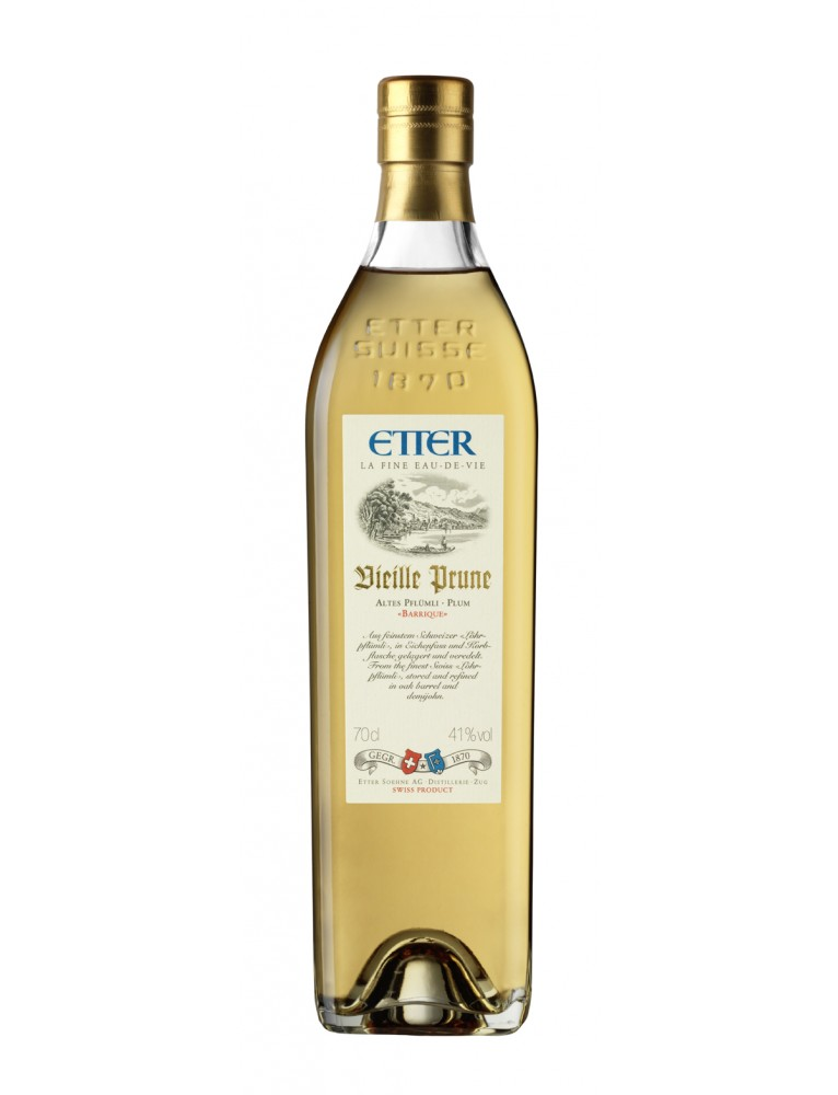 "Etter - Original ""Vieille Prune"" Barrique Liqueur (70 CL)"