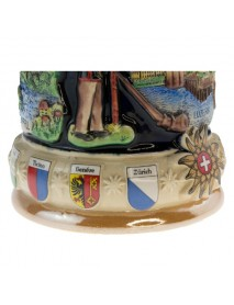Bierstein with Swiss Traditional Motif
