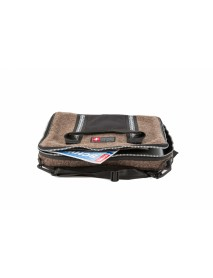 KarlenSwiss - Embroidery Swiss Army Blanket Laptop Bag / Guisan