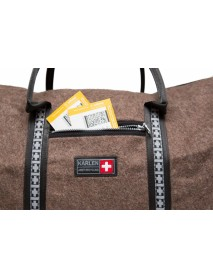 KarlenSwiss - Embroidery Swiss Army Blanket Travel Bag Large / Gotthard