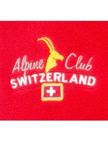 Alpine Club - Fleece Pullover Red