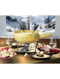Stöckli - Cheese Fondue Caquelon 'Swiss Cheese'