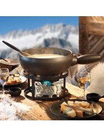 Stöckli - Cheese Fondue Set - Flurina