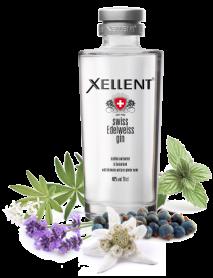XELLENT - Swiss Edelweiss Gin (70 CL)