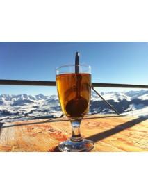 Appenzeller - Coffee Glass 'Kafi Fertig' (Set of 2)