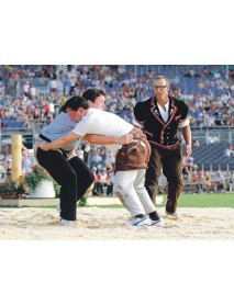 "KarlenSwiss - Pendant Wresting Breeches ""Schwingerhosen"" Brown"