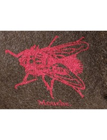 KarlenSwiss - Silkscreen Print Swiss Army Blanket / Fly Pouch Bag