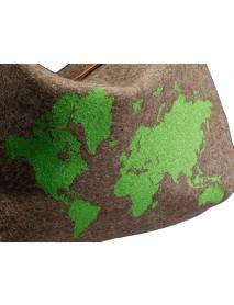 KarlenSwiss - Silkscreen Print Swiss Army Blanket / World Pouch Bag