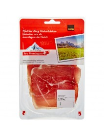 Walliser Berg Rohschinken - Dry-Cured Ham (ca. 80 G)