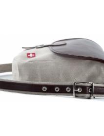 KarlenSwiss - Wresting Breeches Fabric / Leather Handbag