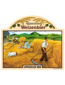 Appenzeller Bier - Organic Weizen Beer (4 x 0.5 L)