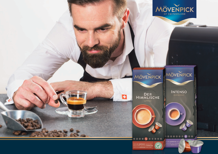Introducing Mövenpick Swiss Coffee at Swiss House Shop