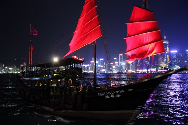 Cruising The Hong Kong Victoria Harbour