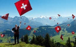 Happy Birthday Switzerland and Swiss House Shop