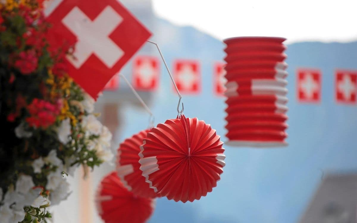 Swiss National Day and Happy Birthday Swiss House Shop