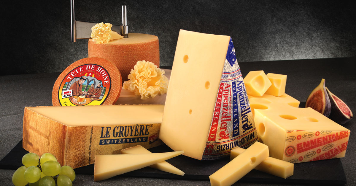 Switzerland: The Land of a 1000 Cheeses