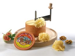 Tête de Moine – Cheese enjoyment from the Canton of Jura